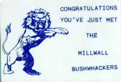 Millwall Bushwacker Hooligans